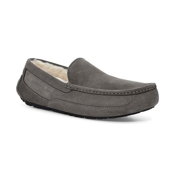 Ugg Mens Grey Ugg Ascot Slipper