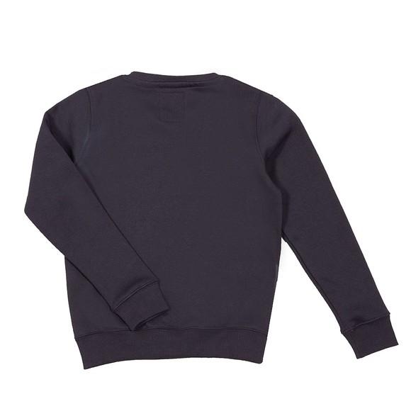 Alpha Industries Boys Blue Boys Nasa Reflective Sweatshirt