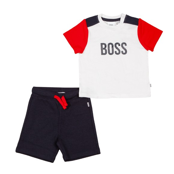BOSS Baby Boys Multicoloured Textile T-shirt Set