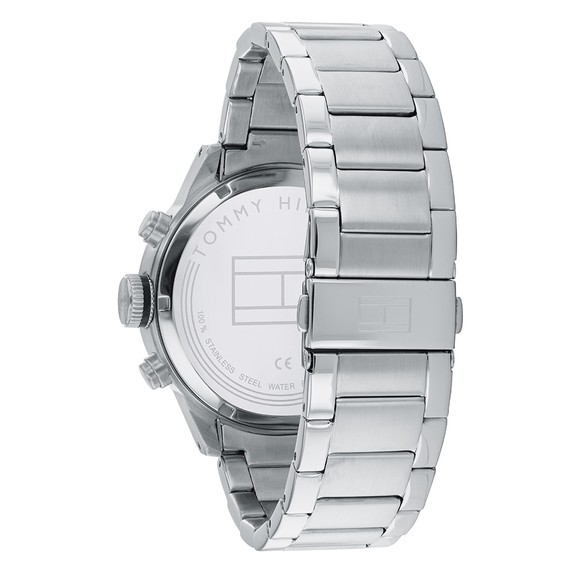 Tommy Hilfiger Mens Silver Trent Watch main image