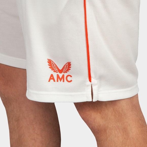 Castore Mens White AMC Playing Shorts main image