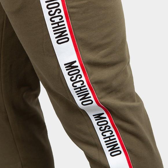 Moschino Mens Green Tape Leg Jogger main image