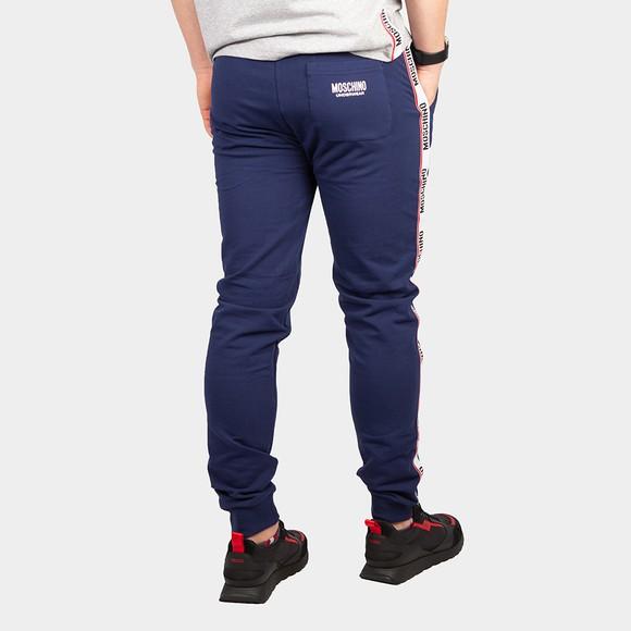 Moschino Mens Blue Tape Leg Jogger main image