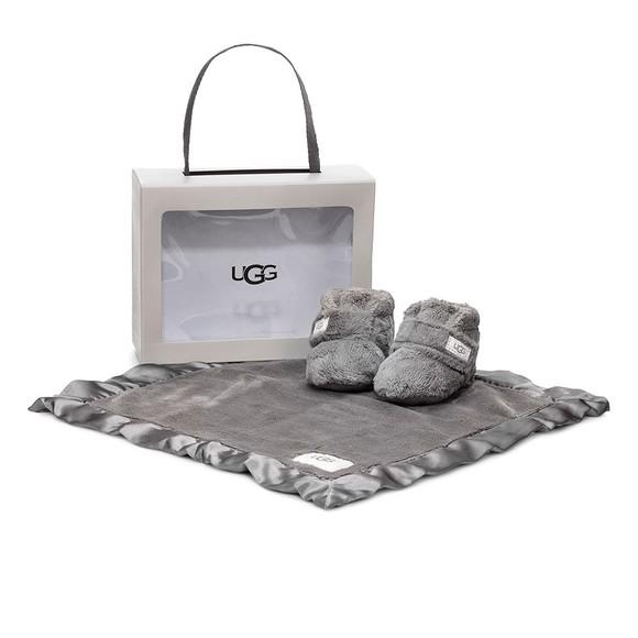 Ugg Girls Grey Bixbee & Lovey Blanket