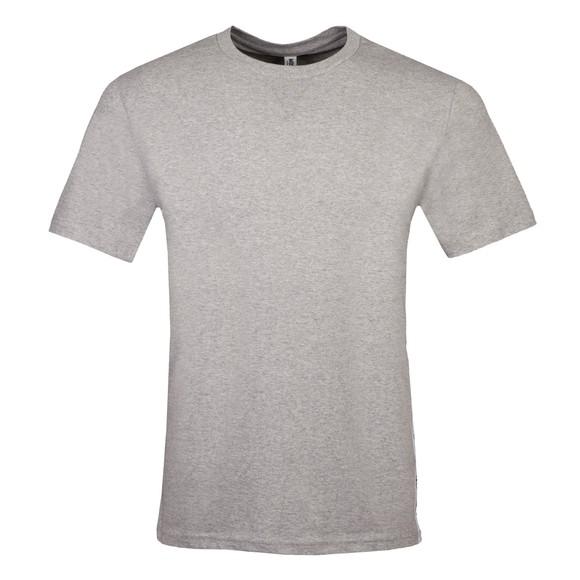 Moschino Mens Grey Side Tape T Shirt