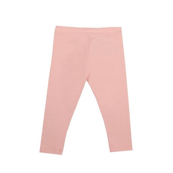 Moschino Girls Pink Logo Legging