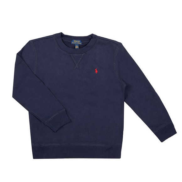 Polo Ralph Lauren Boys Blue Boys Crew Neck Sweatshirt
