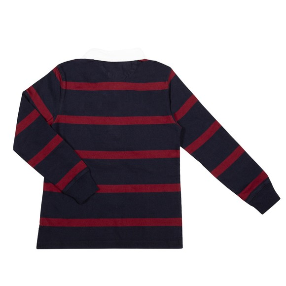 Polo Ralph Lauren Boys Blue Stripe Rugby Shirt