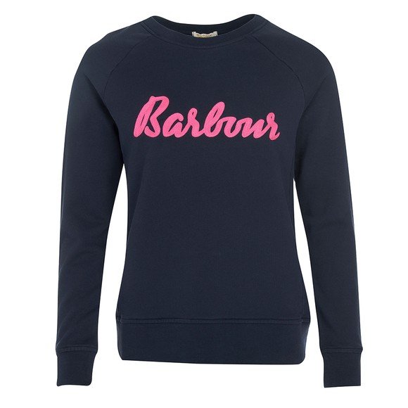 Barbour Lifestyle Womens Blue Otterburn Sweatshirt