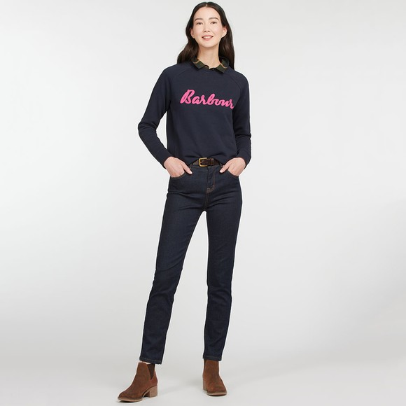 Barbour Lifestyle Womens Blue Otterburn Sweatshirt main image