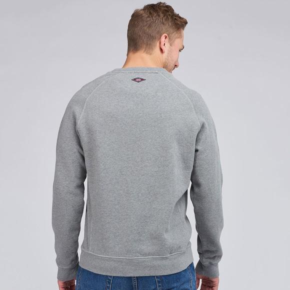 Barbour Int. Steve McQueen Mens Grey Sweatshirt main image