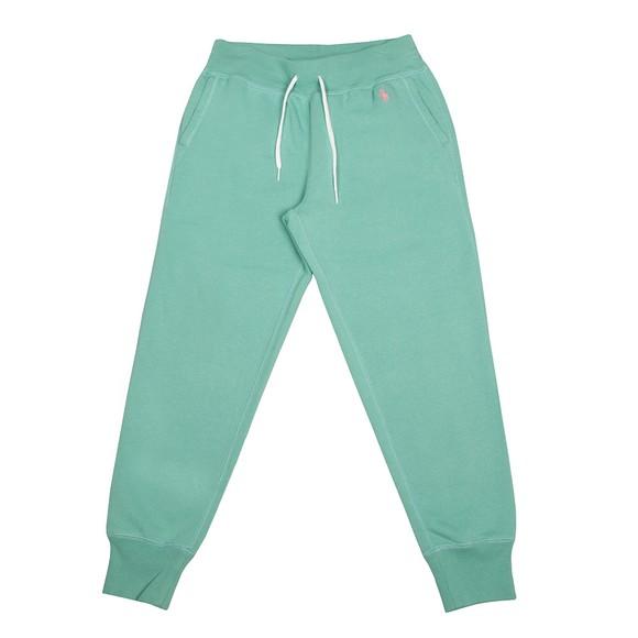 Polo Ralph Lauren Womens Green Cuffed Jogger