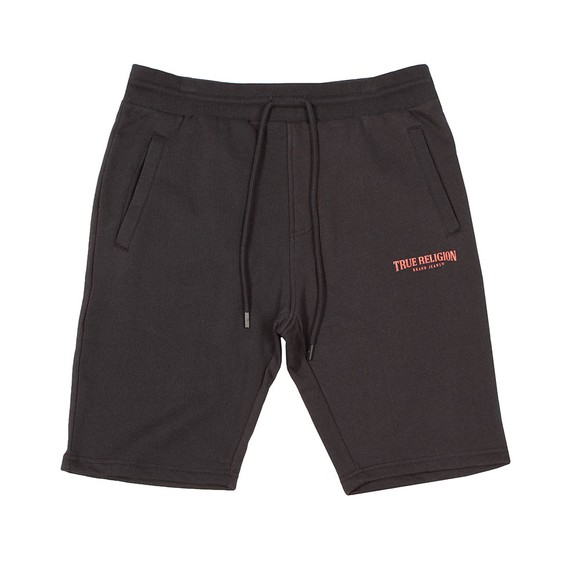 True Religion Mens Black Welt Pocket Shorts