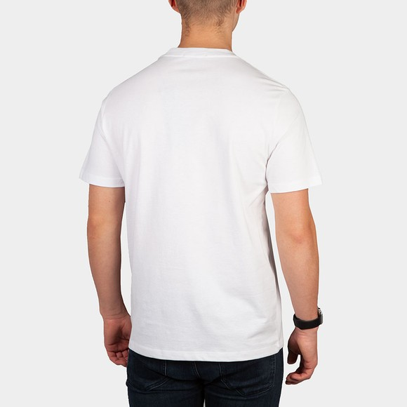Replay Mens White M3466 Basic Logo T-Shirt main image
