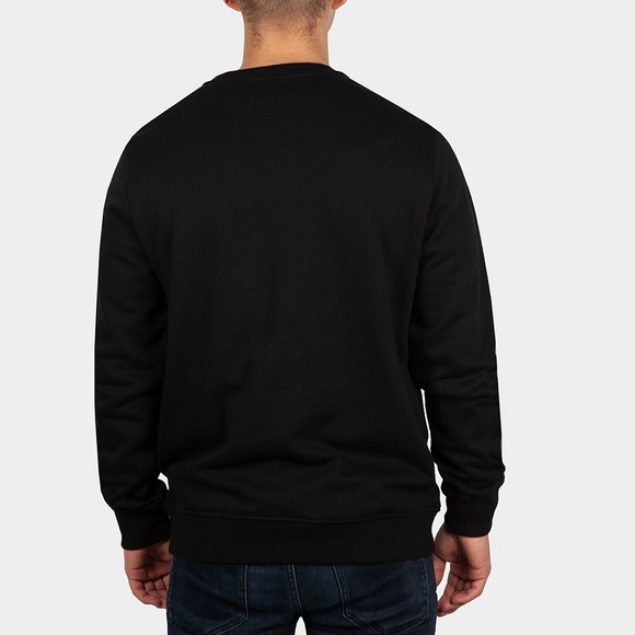 True Religion Mens Black Arch Logo Crew Sweatshirt main image
