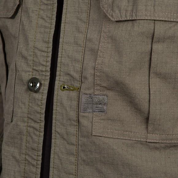 G-Star Mens Green Flap Pocket Overshirt main image