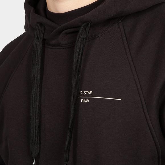 G-Star Mens Black Astra Wrap Hooded Sweatshirt main image