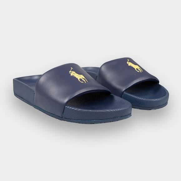 Polo Ralph Lauren Mens Blue Cayson PP Slide