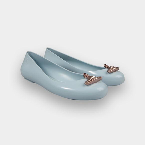 Vivienne Westwood Anglomania X Melissa Womens Blue Sweet Love Shoe main image