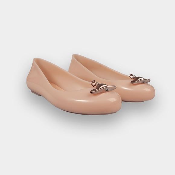 Vivienne Westwood Anglomania X Melissa Womens Pink Sweet Love Shoe
