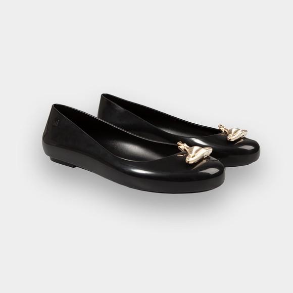 Vivienne Westwood Anglomania X Melissa Womens Black Sweet Love Shoe main image