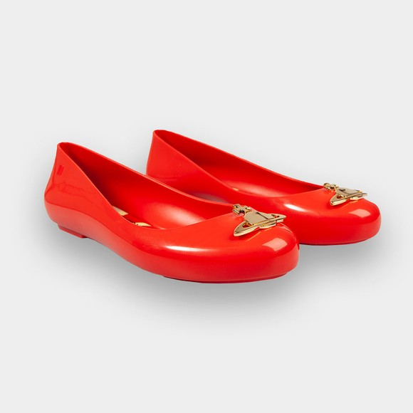 Vivienne Westwood Anglomania X Melissa Womens Red Space Love 16 Shoe main image