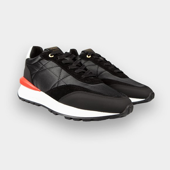Android Homme Mens Black Marina Del Rey Suede Nylon Trainer