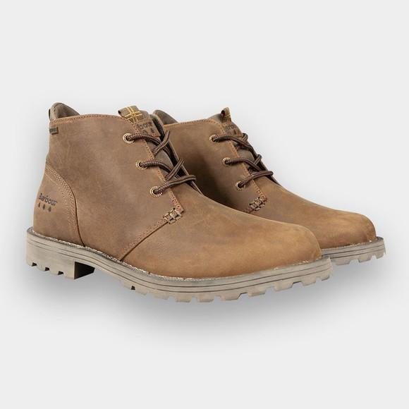 Barbour Lifestyle Mens Brown Pennine Chukka Boot