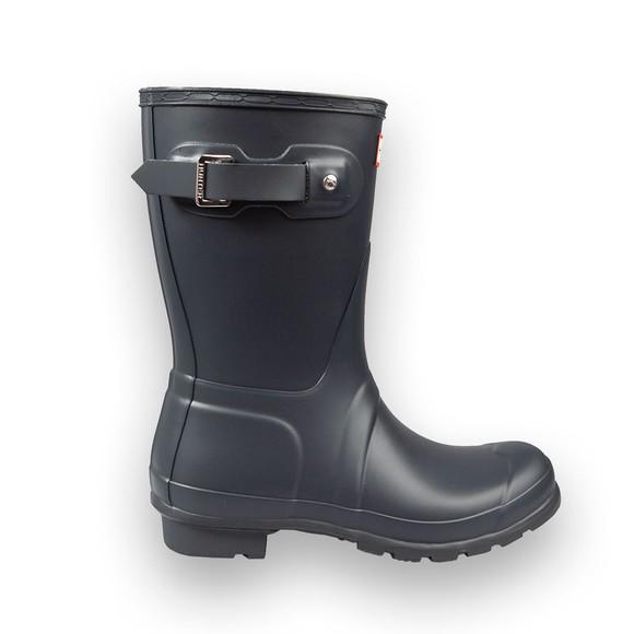 Hunter Womens Blue Original Short Boot