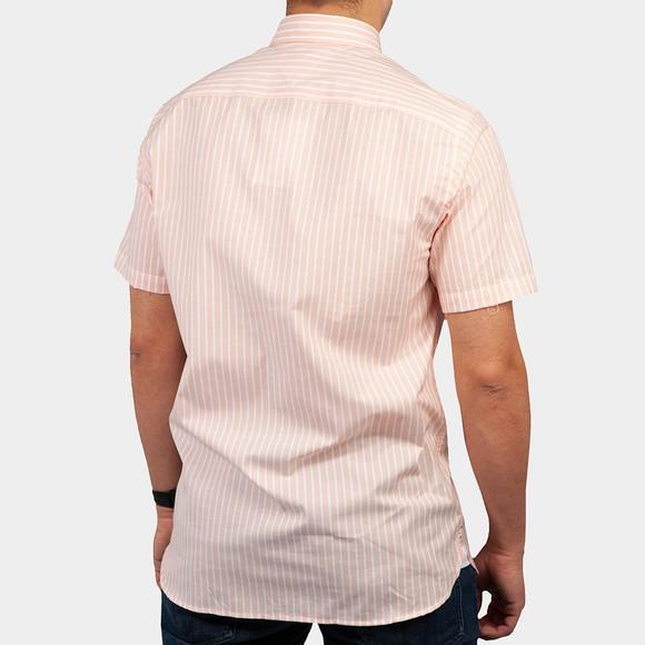 Tommy Hilfiger Mens Orange S/S Stripe Shirt main image