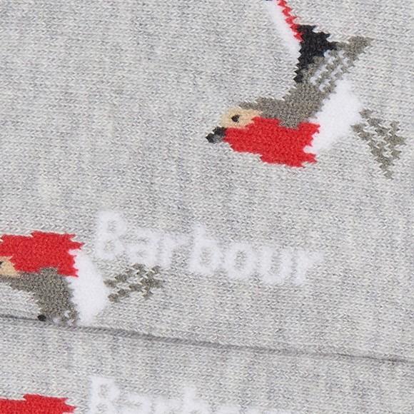 Barbour Lifestyle Womens Grey Robin Socks main image