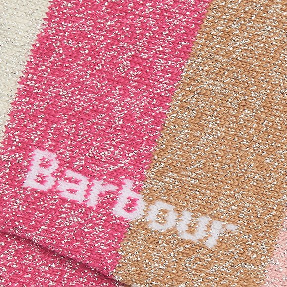 Barbour Lifestyle Womens Pink Spark Star Sock main image