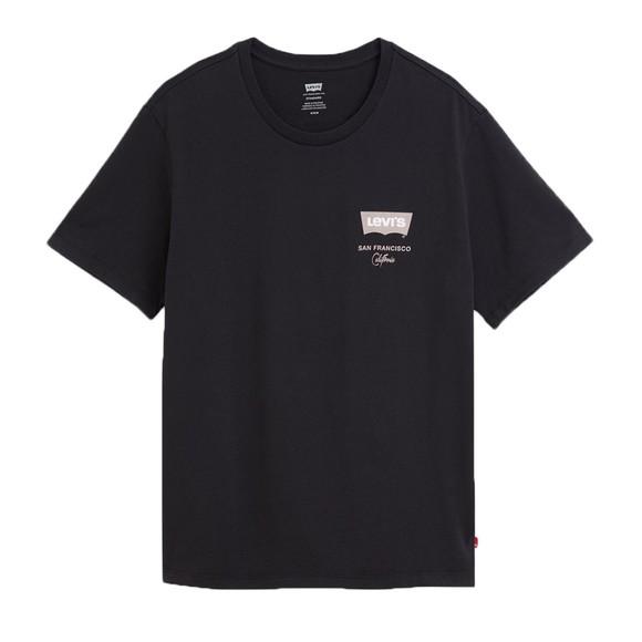 Levi's ® Mens Black Housemark Logo T-Shirt