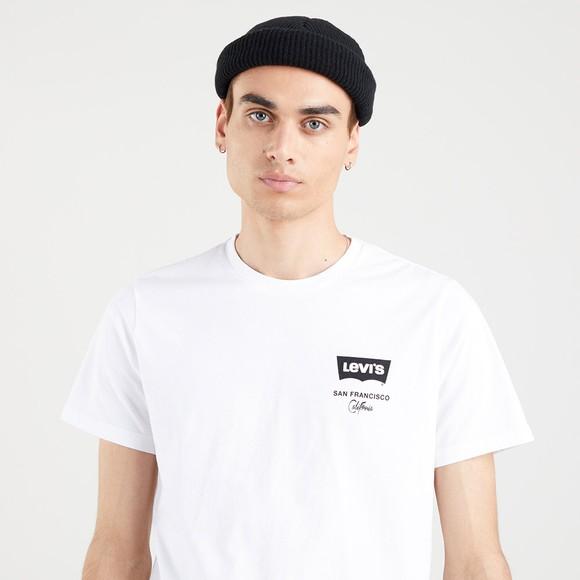 Levi's ® Mens White Housemark Logo T-Shirt