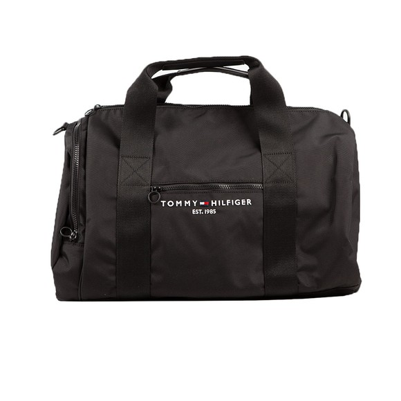 Tommy Hilfiger Mens Black Established Duffle Bag