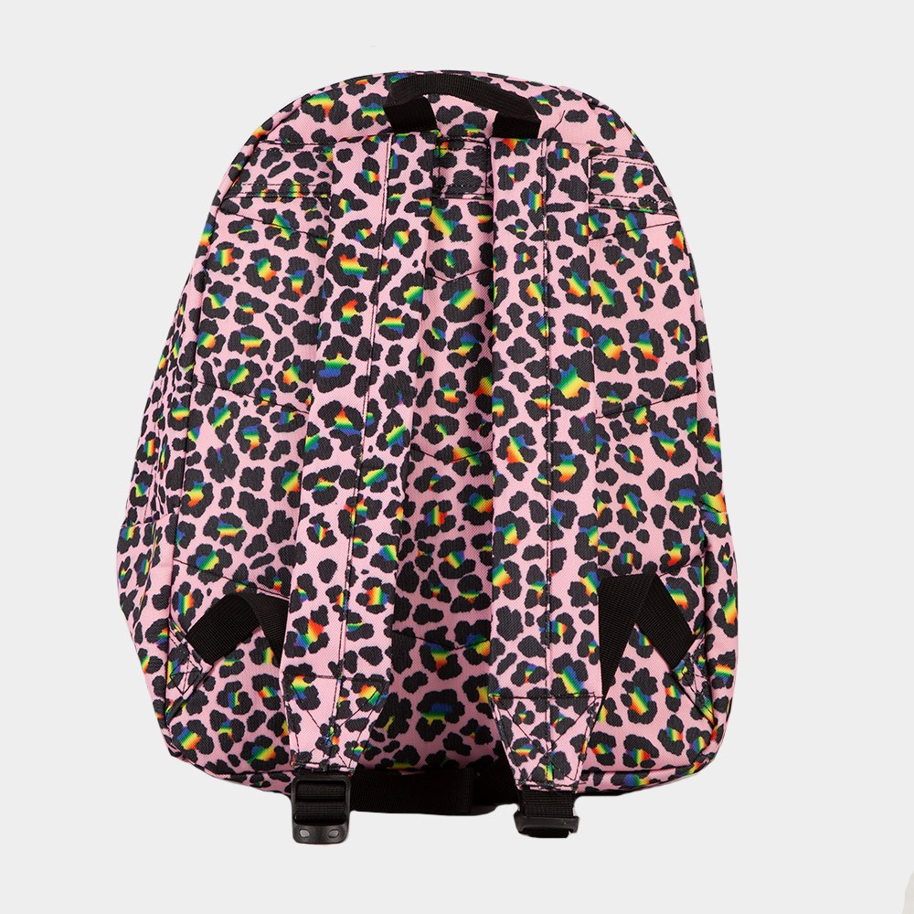 Rainbow Leopard Backpack main image