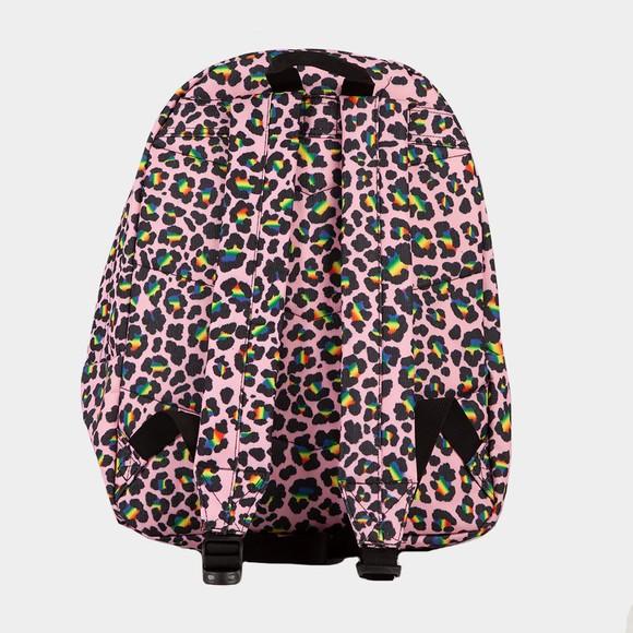 Hype Girls Multicoloured Rainbow Leopard Backpack main image