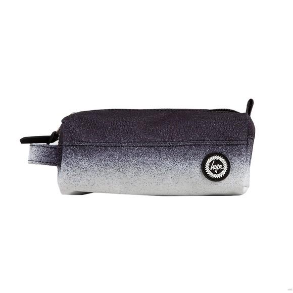Hype Unisex Black Mono Speckle Fade Pencil Case