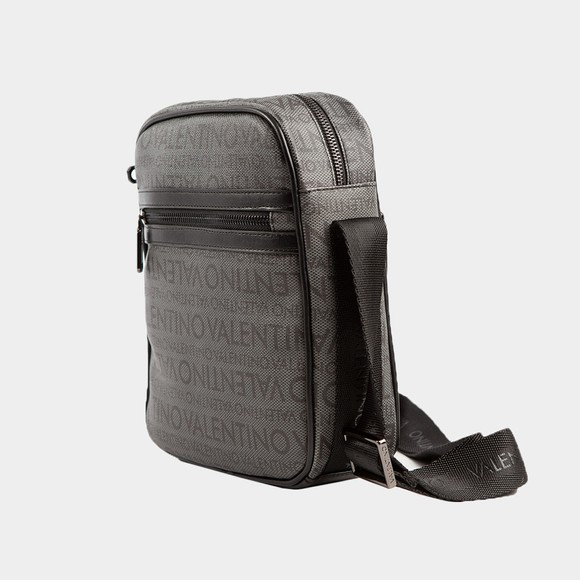 Valentino Bags Mens Black Futon Allover Pattern Bag