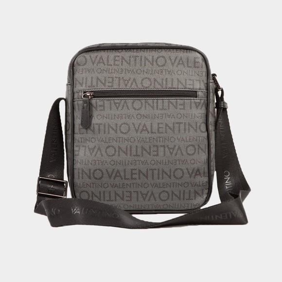 Valentino Bags Mens Black Futon Allover Pattern Bag main image