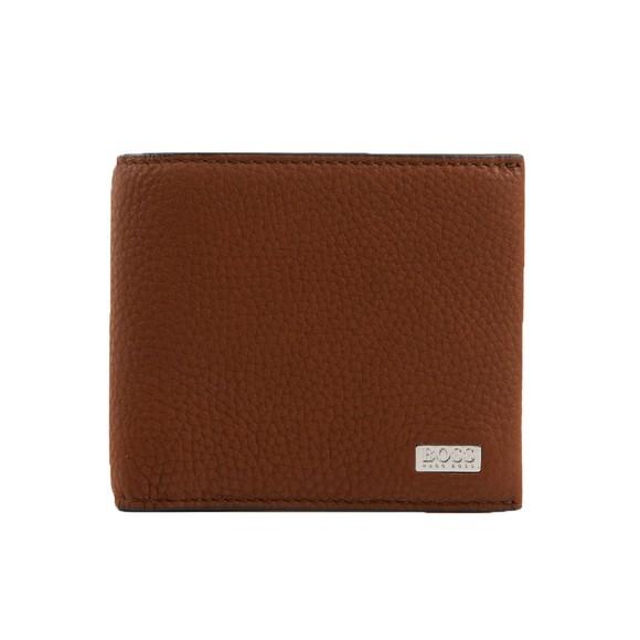 BOSS Mens Brown Crosstown C 8 Wallet
