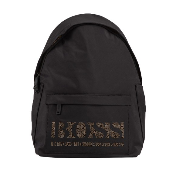 BOSS Mens Black Magnified Backpack