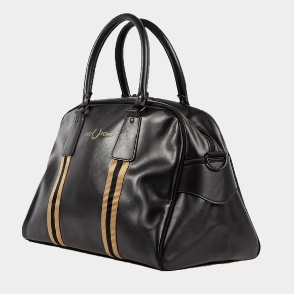 Fred Perry Mens Black Refined Webbing Grip Bag