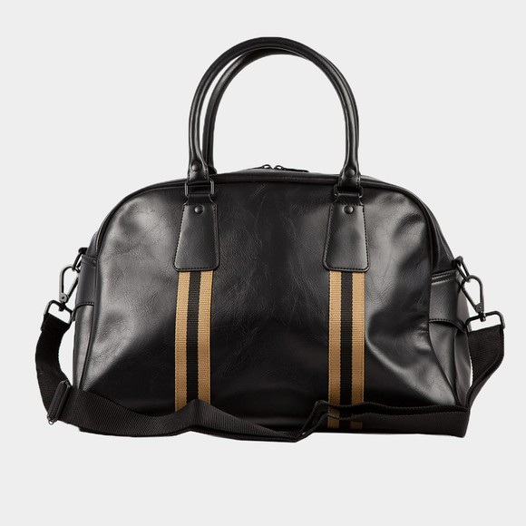 Fred Perry Mens Black Refined Webbing Grip Bag main image