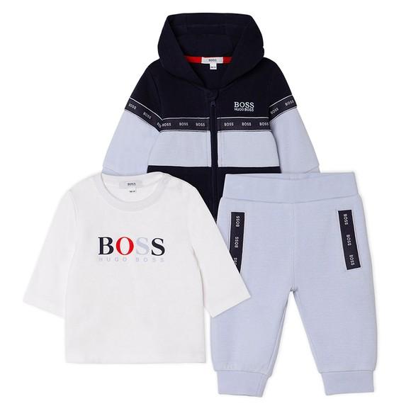 BOSS Baby Boys Blue Tracksuit & T Shirt Set