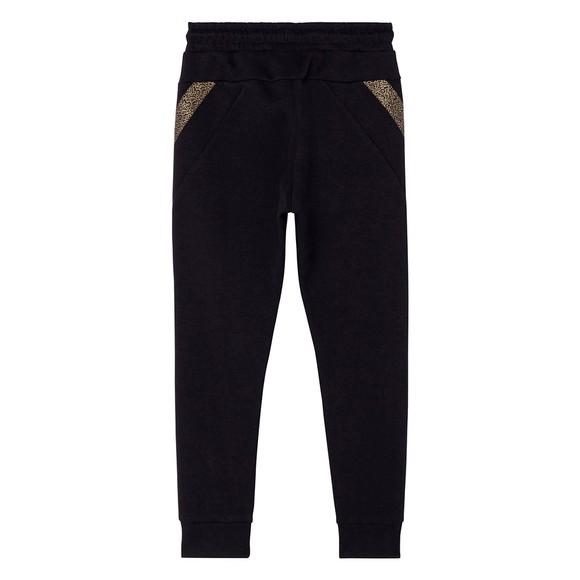 BOSS Boys Black Gold Logo Sweatpant