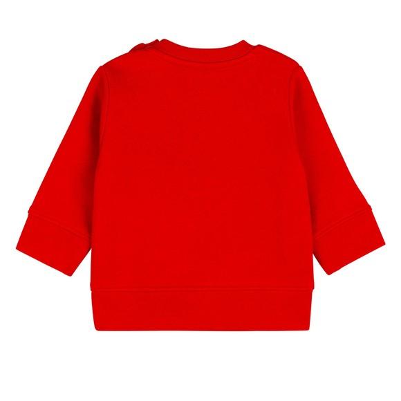 BOSS Baby Boys Red J05893 Logo Sweatshirt main image
