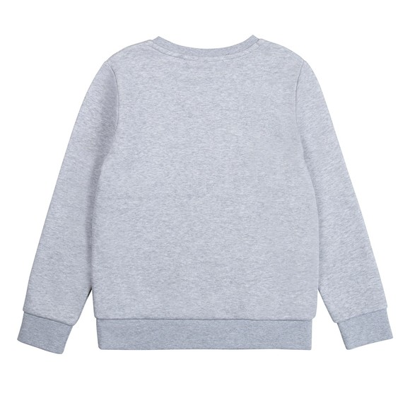 BOSS Boys Grey J25L96 Logo Sweatshirt main image