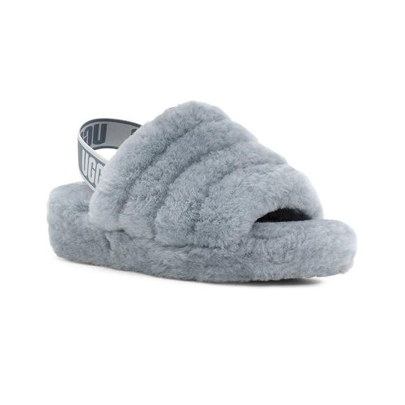 Ugg Womens Grey Fluff Yeah Slide