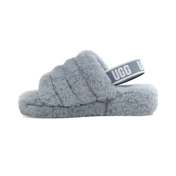 Ugg Womens Grey Fluff Yeah Slide main image